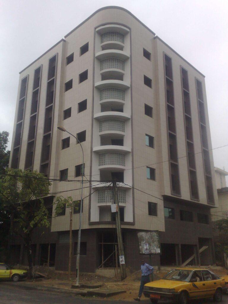 Projet CC02 – Immeuble SCI Bonanjo