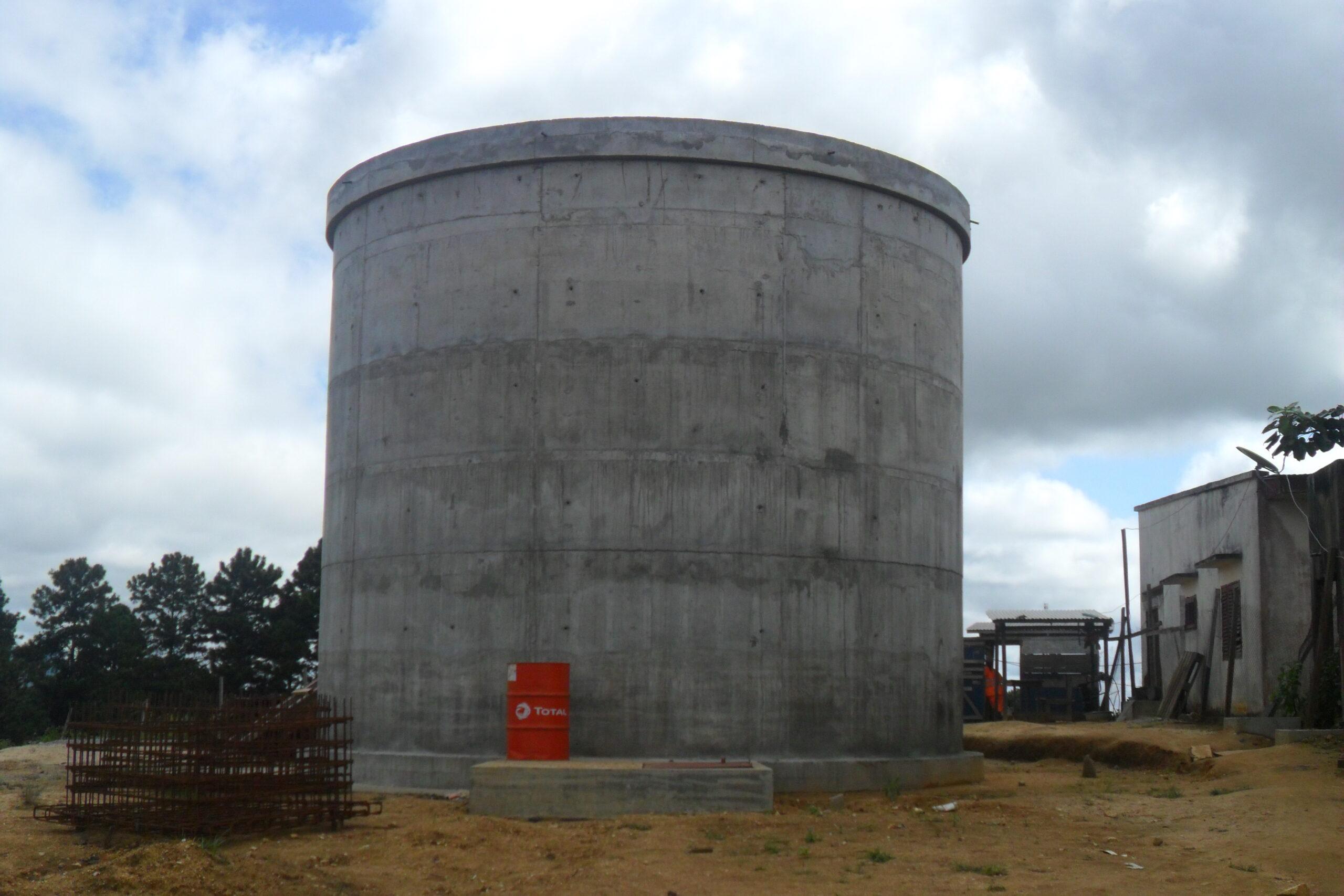 Projet CC20 – Château d'eau de TONGA